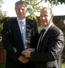 Collect the Investment in education and training award